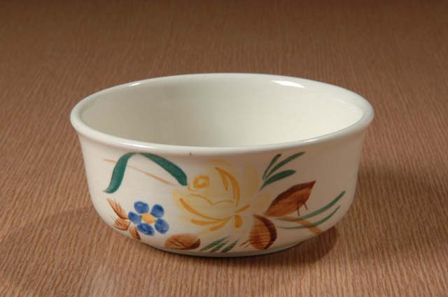 Red Wing Potteries, Inc. Village Green line/Picardy pattern bowl