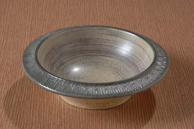 Red Wing Potteries, Inc. Ceramastone line/Greenwichstone pattern cereal bowl