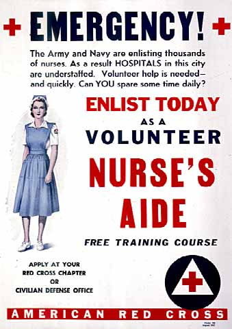 Enlist Today as a Volunteer ANurse's Aide