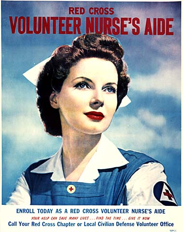 Red Cross Volunteer Nurse's Aide