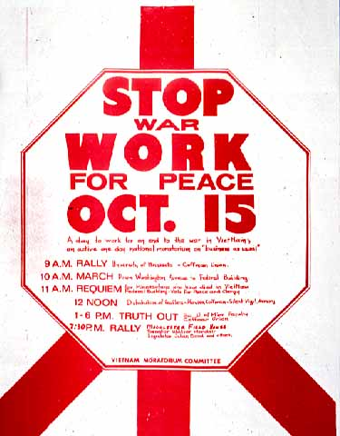 Stop War - Work for Peace 1961-1975