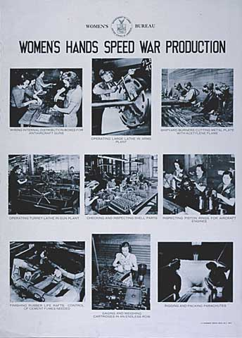 Women's Hands Speed War Production