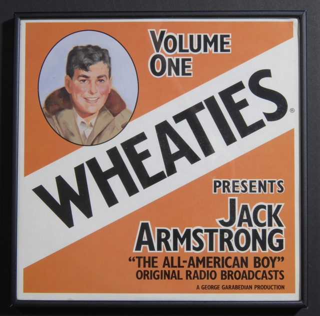 Jack Armstrong sound recording, 1973