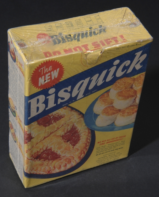 Bisquick Mix packaging, 1941