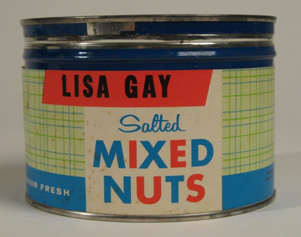Lisa Gay Salted Mixed Nuts can