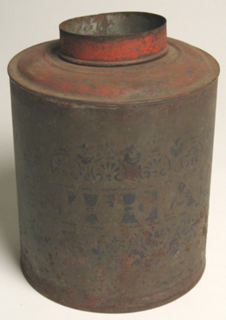 Tea canister from Harkin Store