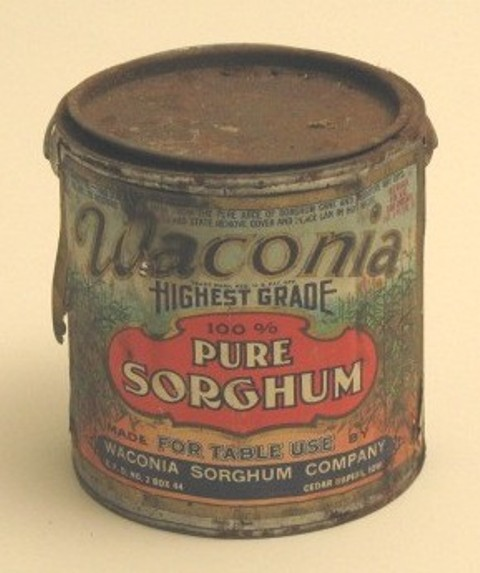 Sorghum can from Harkin Store