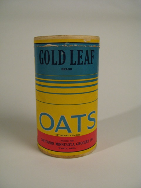 Oatmeal canister