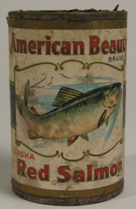Salmon can from Harkin Store