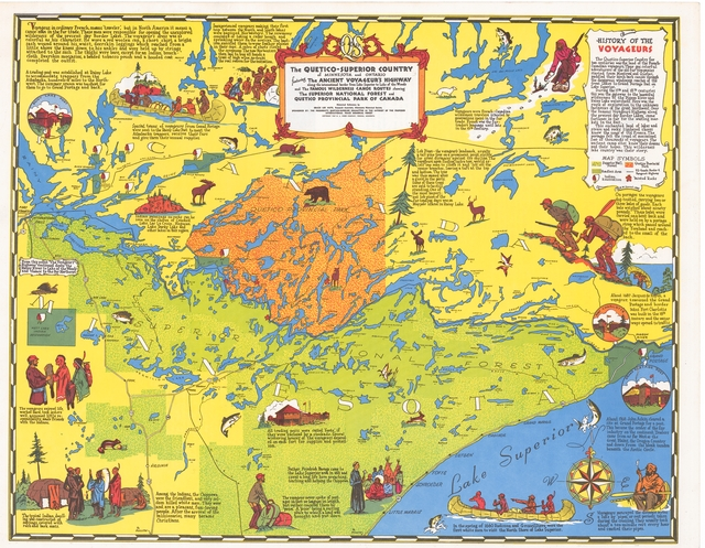 Collections online mnhs the quetico superior country of minnesota and ontario featuring the ancient voyageurs highway along the international border from lake superior to lake of freerunsca Choice Image