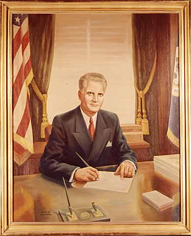 Painting- Governor Luther W. Youngdahl