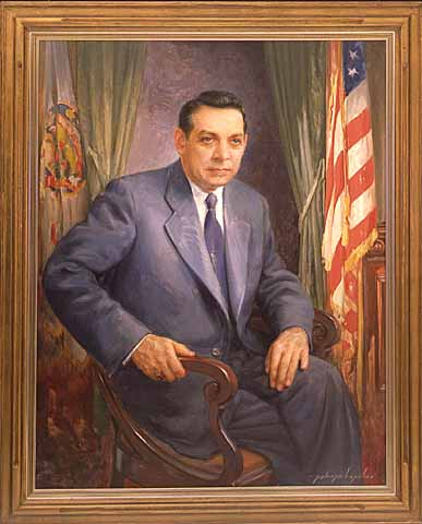 Painting- Governor C. Elmer Anderson