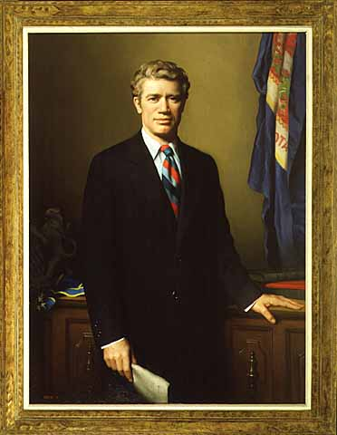 Painting- Governor Wendell R. Anderson