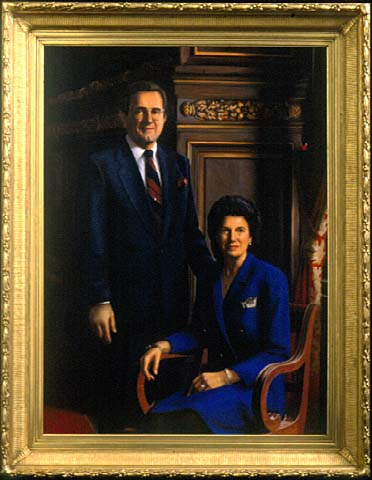 Governor Rudy G. Perpich and Lola Perpich, 2000
