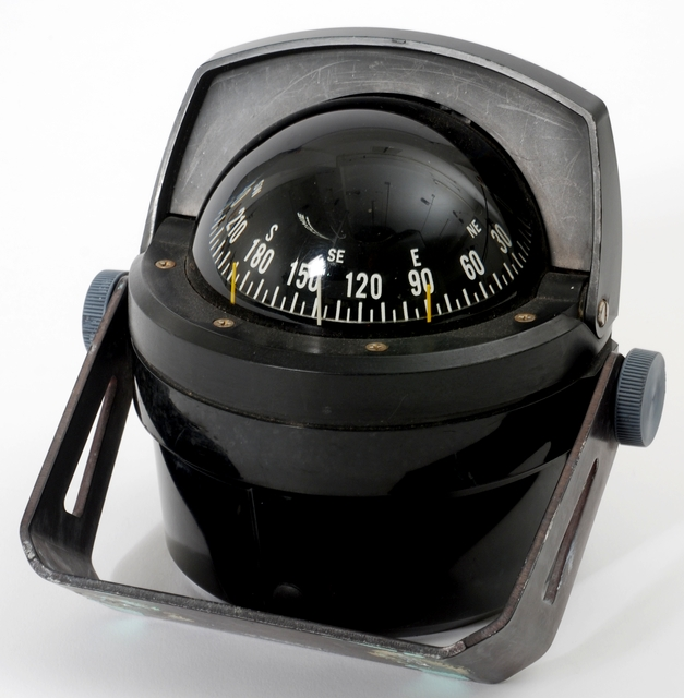 Stationary domed compass, 1979.