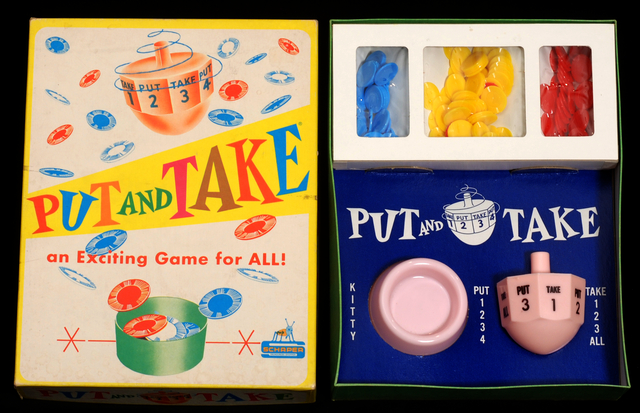 Put and Take Game (Schaper). Creation: Exactly 1956.