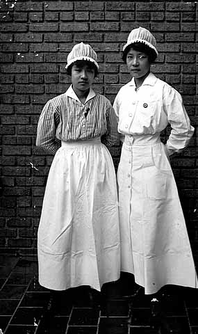 Chinese nurses during World War I.