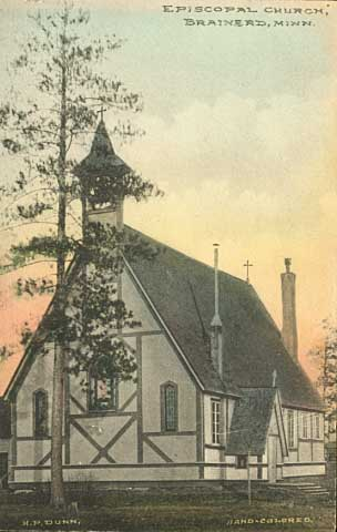 Episcopal Church, Brainerd, c.1910.