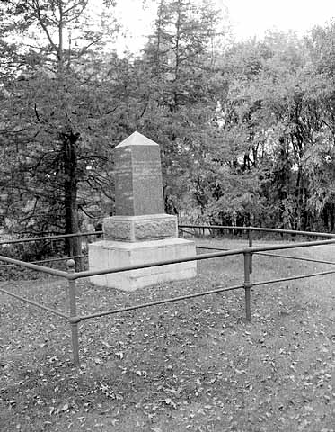 Acton State Monument on the site of the Baker farm, where the U.S.-Dakota War began.