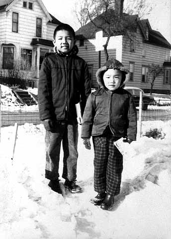 Wing Young and Ken Huie, Duluth.