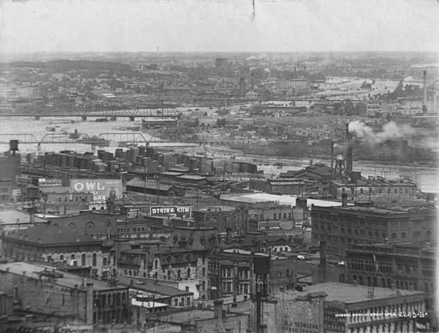 View of Northeast Minneapolis from the New York Life Building