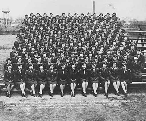 Company 5, 3rd Regiment, First WAC Training Center, Fort Des Moines, Iowa, 1944