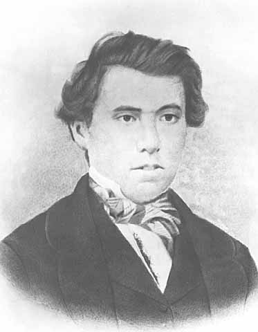 James J. Hill, age 18, 1864