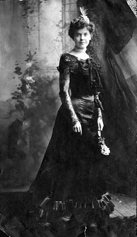 Elinore Johnson, wife of John A. Johnson, c. 1890