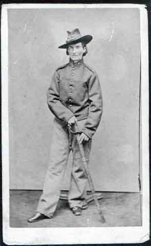 Francis Clalin, disguised as a man, served in the 44th Regiment, Missouri Artillery, Company I for 3 months and in the 13th Missouri Cavalry, Company A, for 19 months.