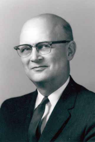 Erling O. Johnson of Mankato. Commissioner of the Department of Education from 1962-1964. Anoka-Hennepin Superintendent of Schools from 1964-1975.