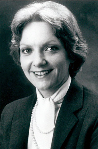 Lieutenant Governor Marlene Johnson, 1983