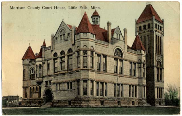 Morrison County Court House, Little Falls 1908