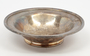 Silver-plated bowl from railroad dining car
