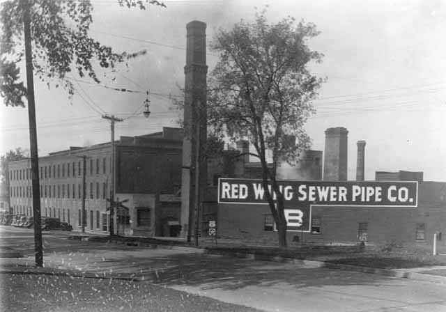 Red Wing Sewer Pipe Company.