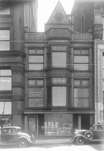 Stees Building, erected 28-30 East Fourth, St. Paul.
