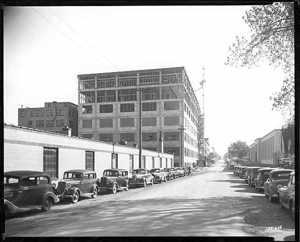 Construction at Minnesota Mining and Manufacturing