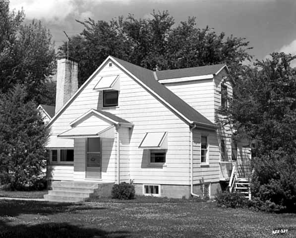 House at 1151 Oak Knoll?, location unknown