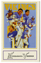 Minnesota Vikings crime prevention trading card set