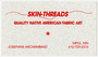 Skin-Threads business card