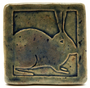 Ceramic rabbit tile