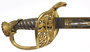 US Army officer's non-regulation sword and scabbard