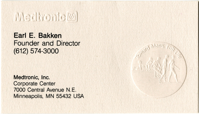 Collections online mnhs medtronic founder and ceo business card colourmoves