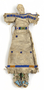 Dakota beaded rawhide doll