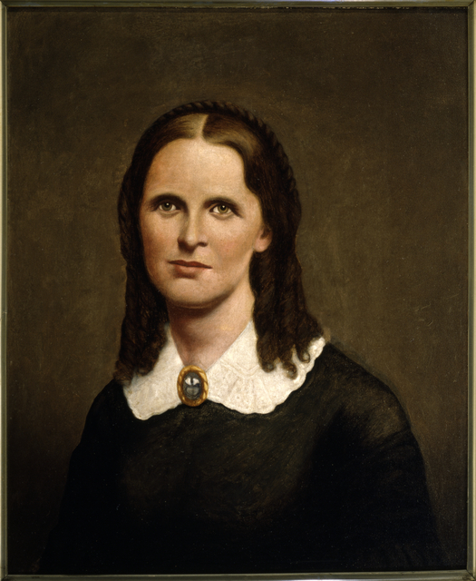 Harriet E. McConkey Bishop, approximately 1880.