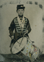 Bennett Benson as drummer boy. U.S.- Dakota War.
