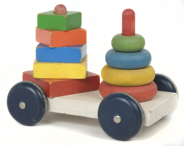 Pile-on cart toy (Sifo Toys). Creation: Approximately 1970.