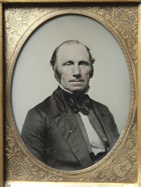 William Holcombe of Stillwater, Lieutenant Governor and member of the First State Legislature, c. 1858