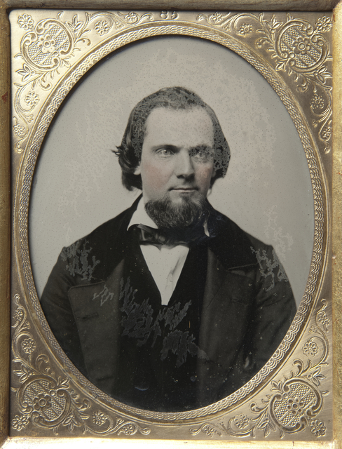 James B. Wakefield of Blue Earth, member of the First State Legislature, c. 1858