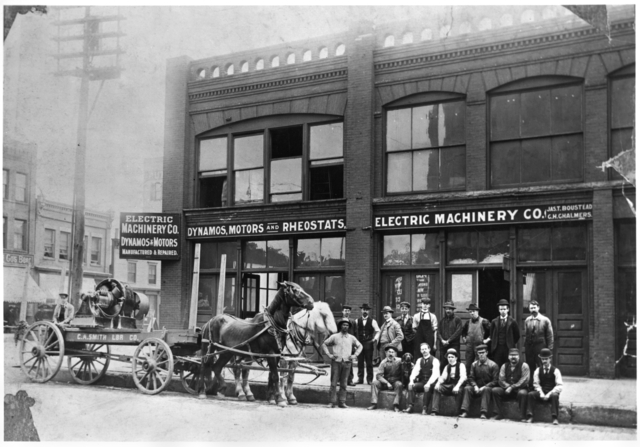 Electric Machinery Company, 101-103 First Avenue North, Minneapolis