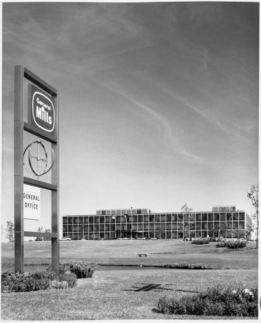 General offices of General Mills, Golden Valley, 1959.